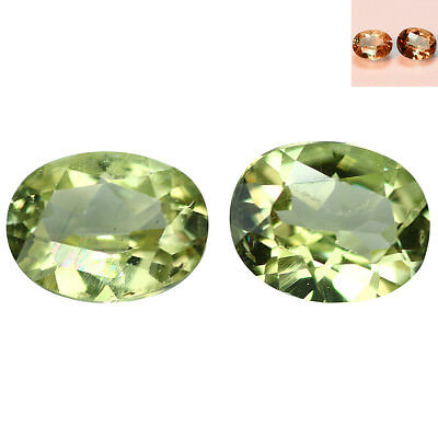 1.33Ct Beautiful Oval Cut 6 x 5 mm AAA Color Change Turkish Diaspore