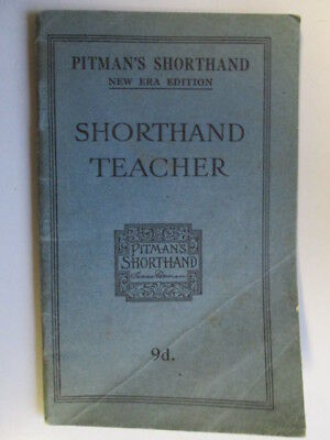 Pitman pocket shorthand dictionary 099 picclick uk good pitmans shorthand teacher 1913 01 01 undated 48 pages fandeluxe Choice Image