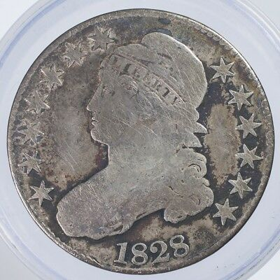 1828 Capped Bust Half Good scratches