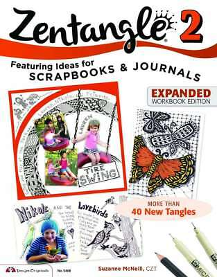 Zentangle 2 Expanded Workbook Edition, Suzanne McNeill, New condition, Book