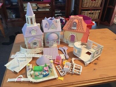 Vintage Fisher Price Precious Places Doll House Church