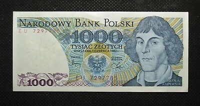 Bank Note Of Poland (People's Republic) 1000 Zloty M. Kopernik (Mint Condition)