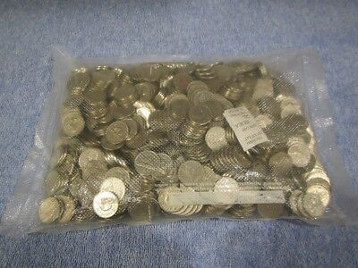 TEN POUNDS (10) of Canadian 99.9% Nickel Bulk Nickels ** Free US Shipping **