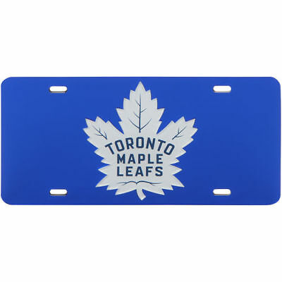 Toronto Maple Leafs WinCraft Crystal Mirror License Plate