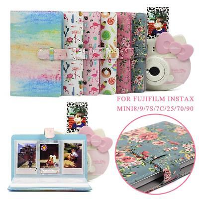96 Pockets PU Photo Album For FujiFilm Instax for Fuji Film Camera Mini8/9/70/90