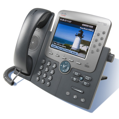 Cisco CP-7975G Business Unified IP Media Phone VoIP Telefon Farbdisplay
