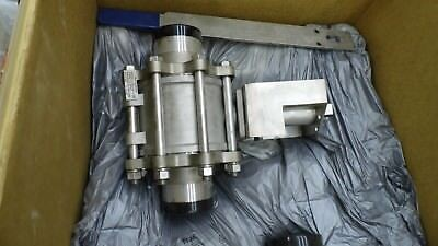 "Pbm Sphll5D-G---18 4"" 316L Stainless Steel Industrial 2-Way Ball Valve"