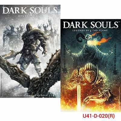 Dark Souls Series Collection 3 Books Set Winter's Spite, Legends of the Flame