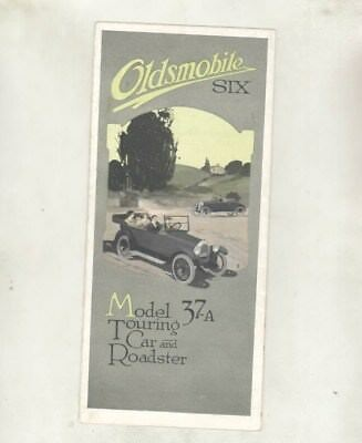 1919 1920 Oldsmobile Six Model 37A Touring & Roadster Brochure Poster wz1241