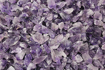 1000 Carat Bulk Lot Natural Amethyst Quartz Crystal Points (20-30 pcs)