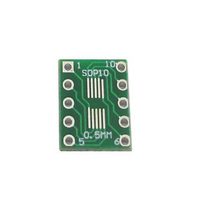 120Pcs//Pack SOT23 to DIP Adapter Breakout PCB Converter Board Board
