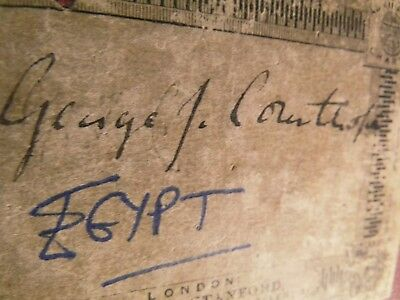 Egypt Antique Map By Johnston Frse: Explore G.cowthorpe's Own Map-Bound Stanford