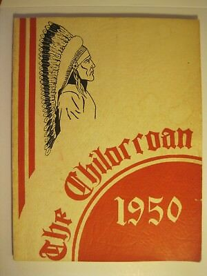 1950 Chilorroan Year Book Chilocco Indian Agricultural School Oklahoma Ok