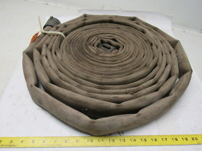 "Imperial 70S3 NH 1-1/2"" Single Jacket Fire Hose 150 PSI  50'"