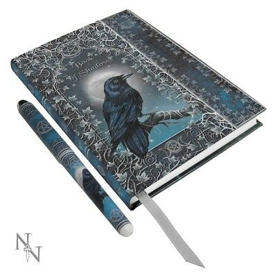 Embossed Book of Shadows A5 Journal with Pen