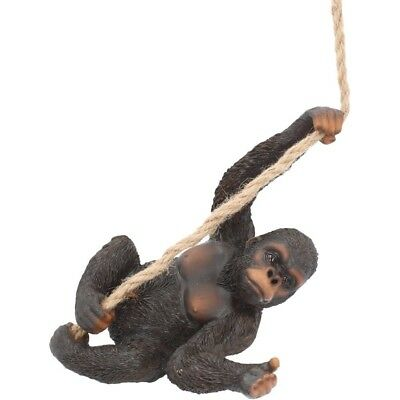 King Of The Swing Gorilla Statue