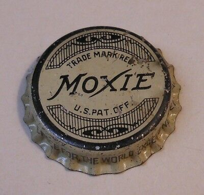 "Vintage Moxie ""1930's""..cork..unused..SODA BOTTLE CAP"