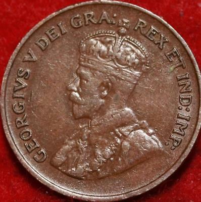 1925 Canada One Cent Foreign Coin