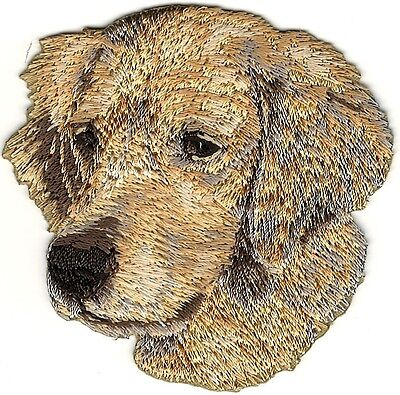 Golden Retriever Dog Breed Embroidery Patch