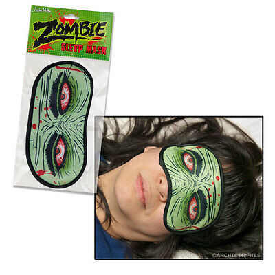 Zombie Eyes Sleep Mask - travel - blinfold - shade - horror - sleeping - cover