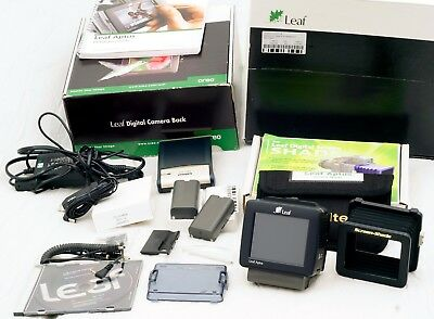 Leaf Aptus 22 Digital Back For Hasselblad V + Screen Shade In Factory Box.