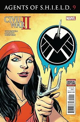 AGENTS OF SHIELD #9, New, First print, Marvel Comics (2016)