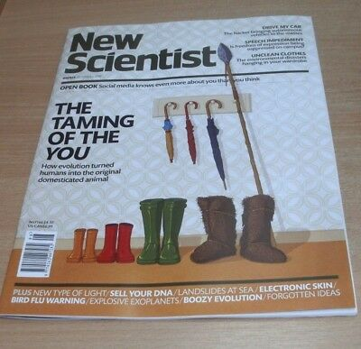 New Scientist magazine #3166 - 24 FEB 2018 Sell your DNA, Speech Impediment &