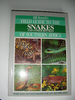 Field guide to the snakes of southern Africa, Branch, Schlangenführer,Reptilien