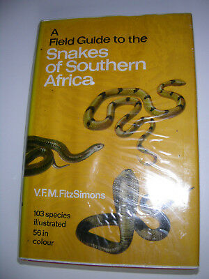 Field guide to the snakes of southern Africa,FitzSimons, Schlangen,Reptilien