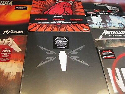 Metallica Collection Limited Edition Rare Usa Pressed 9 Titles 24 Sides Of Vinyl