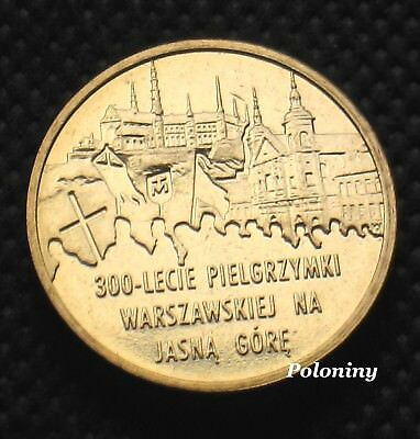 COIN OF POLAND - 300th ANNIVERSARY OF WARSAW PILGRIMAGE TO JASNA GORA (MINT)