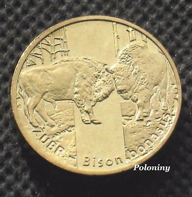 Commemorative Coin Of Poland - Animals Of The World Bison - Zubr (Mint)