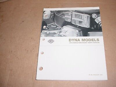 Harley Davidson Parts Catalog 2004 Dyna 99439-04