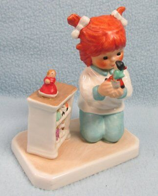 Vintage Goebel Charlot Byj THE COLLECTOR  Red Heads figurine #105