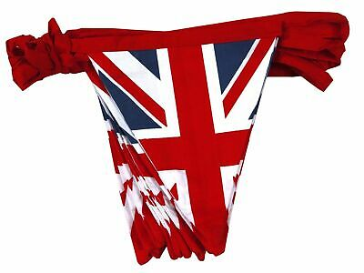 Union Jack Fabric Bunting Royal Baby Prince Harry & Meghan Vintage Flags 5M