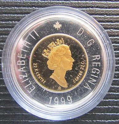 1999 Canada Nunavut Gold $2 Proof Coin - The Drum Dance - w/ COA and Case
