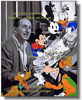 Walt Disney Picture 1950s Mickey Mouse Donald Duck Goofy Oswald Pluto