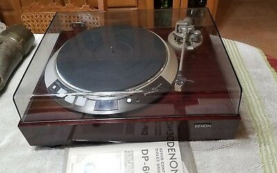 DENON DP-60L RECORD PLAYER / TURNTABLE Functional nice Used read desc.