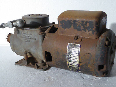 GRAHAM Variable Speed Transmission with motor, gear box speed reducer