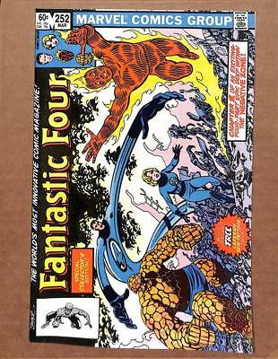 Fantastic Four # 252 - NEAR MINT 9.8 NM - Reed Richards Human Torch MARVEL!!