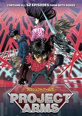 PROJECT ARMS THE COMPLETE SERIES New Sealed 8 DVD Set Seasons 1+ 2