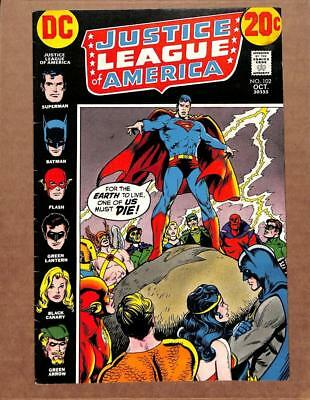 Justice League of America # 102 - HIGHER GRADE - Batman Superman Flash DC Comics