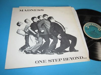 Madness / One Step Beyond ... (Portugal 1979, Stiff SEEZ 17 NP) - LP