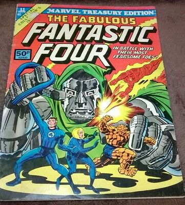 THE FANTASTIC FOUR. 1976 Treasury Edition. (vol 1, No 11). 84-Page Softback