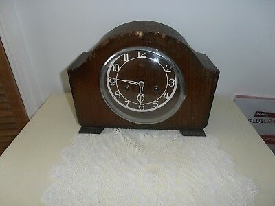 Smiths Enfield Mantel Clock Spares Or Repair