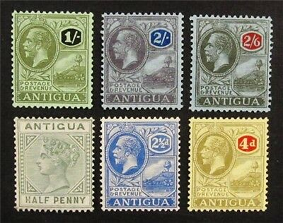 nystamps British Antigua Stamp # 12 // 62 Mint OG H $51