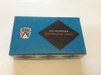 Vintage 1960s ??  FORD  All purpose traveling light w/box exc! Estate find!