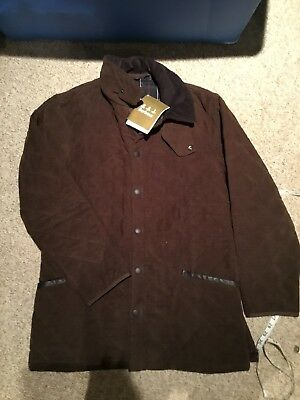 Barbour Moleskin Liddesdale Jacket, New With Tags, Small NWT fits medium Rare