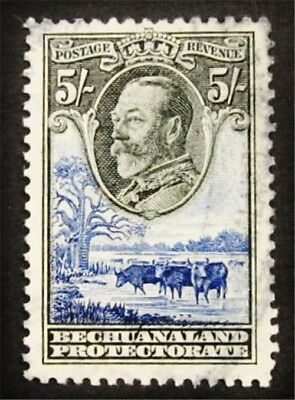 nystamps British Bechuanaland Protectorate Stamp # 115 Rare Used $100