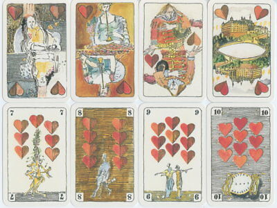 Spielkarten playing cards Sonderbild Jeu de cartes Altenburg Künstlerkarte 2003